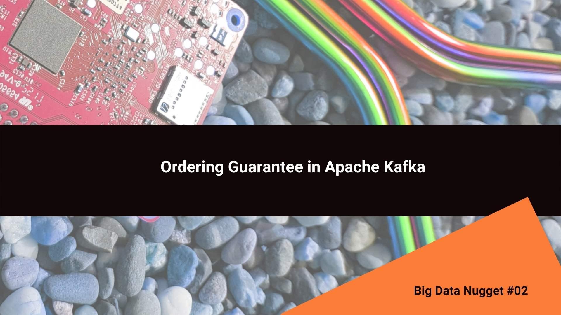 Ordering Guarantee Apache ZooKeeper